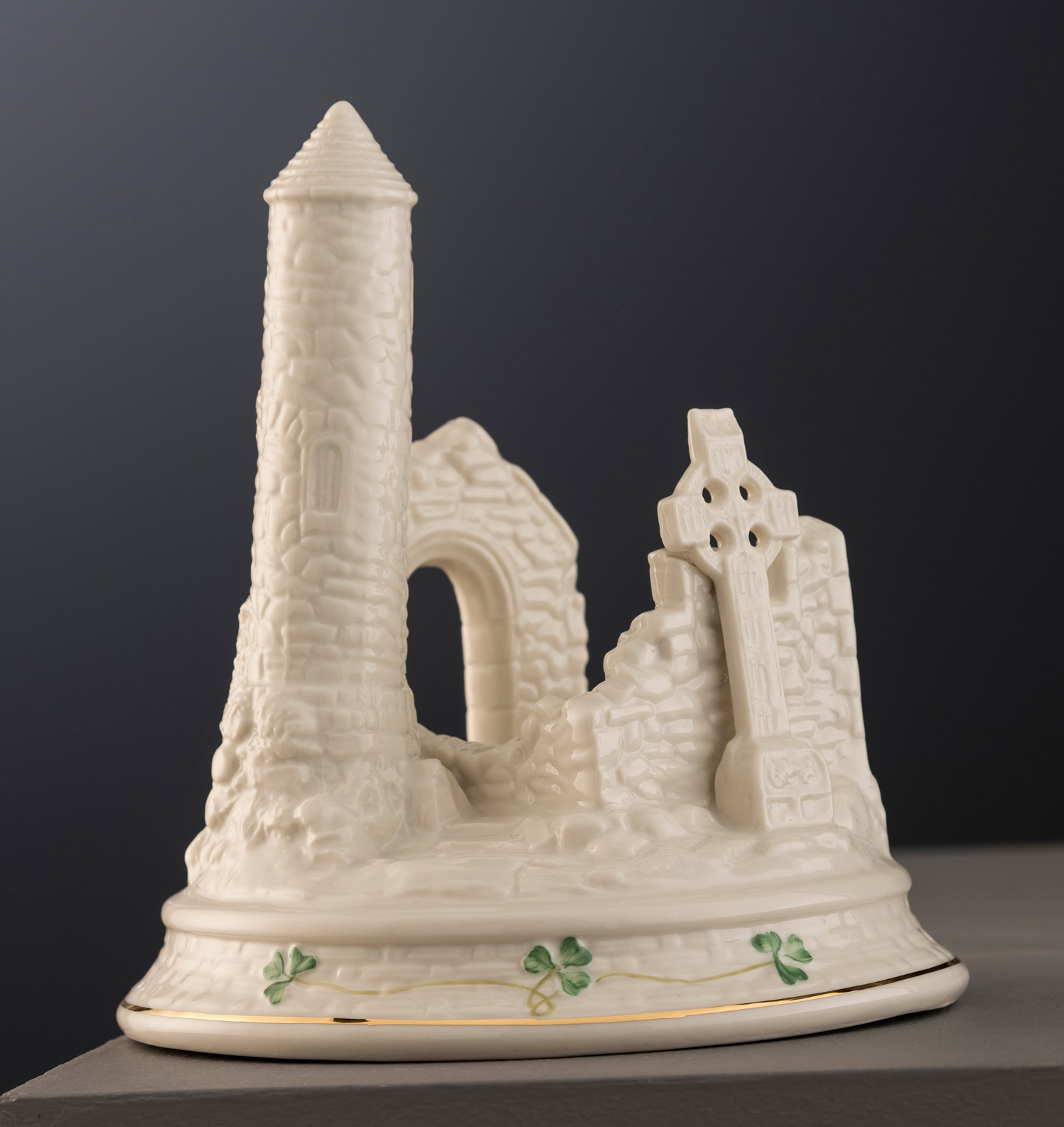 Devenish Island from the Masterpiece Collection Presented to HRH The Duke of York, Prince Andrew Visit To Belleek Pottery September 2018