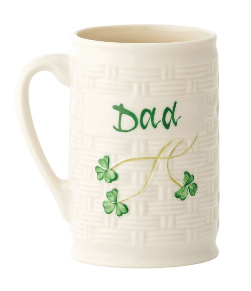 Belleek China Dad Personalised Mug