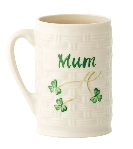 Belleek China Mum Personalised Mug