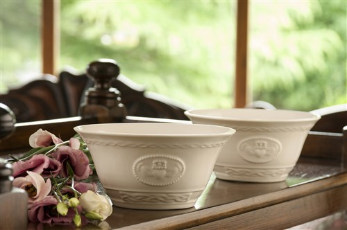 Belleek Claddagh Bowls (set of two)
