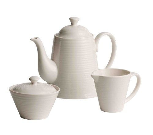Belleek Living Ripple Teaset