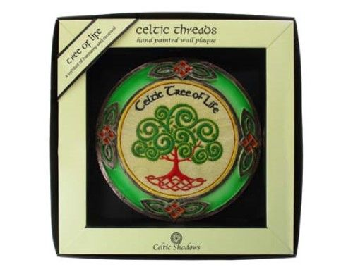 Celtic Tree Of Life Wall Plaque