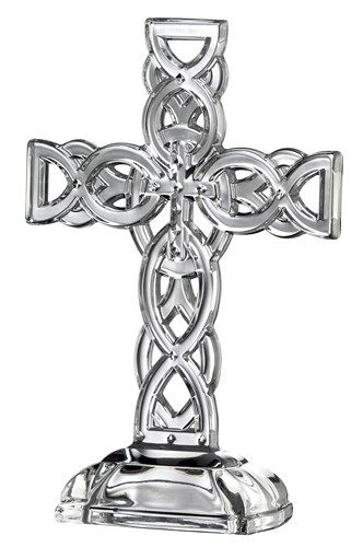 Galway Crystal 24% Lead Crystal Celtic Cross