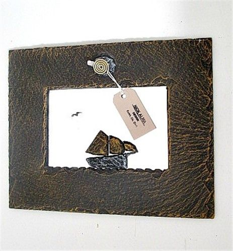 Galway Hooker Slate Mirror Small
