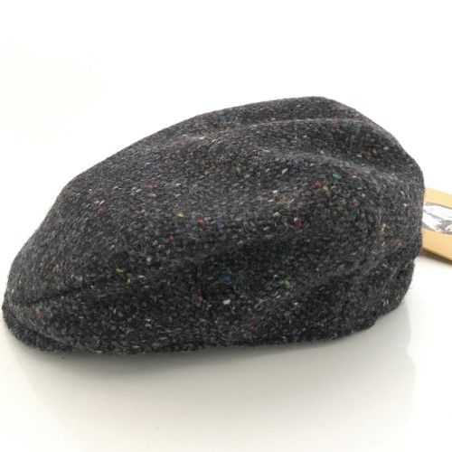 Hanna Hats Irish Tweed Child's Peaked Cap