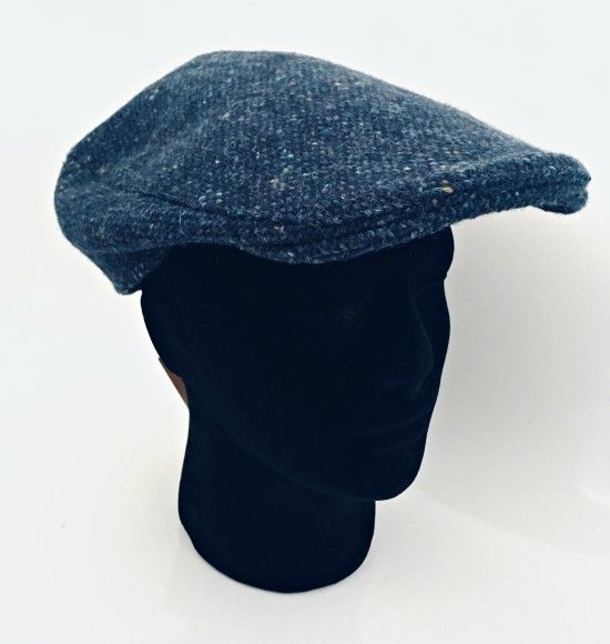 Hanna Hats Irish Tweed Peaked Touring Cap