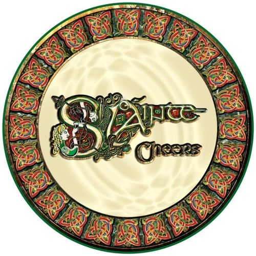 Irish Celtic Coaster Sláinte (Cheers)