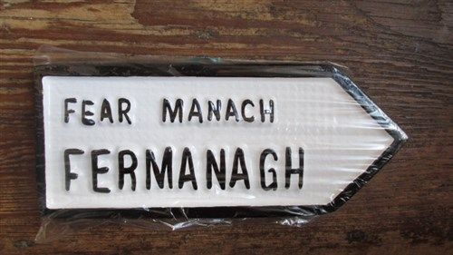 Irish Road Sign - Fermanagh