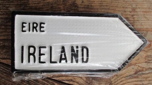 Irish Road Sign - Ireland