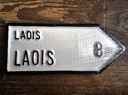 Irish Road Sign - Laois