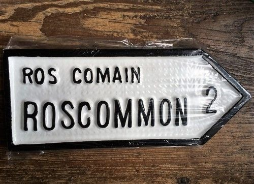 Irish Road Sign - Roscommon