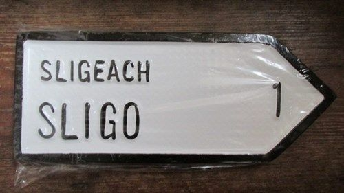 Irish Road Sign - Sligo