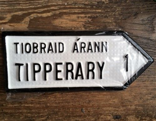 Irish Road Sign - Tipperary