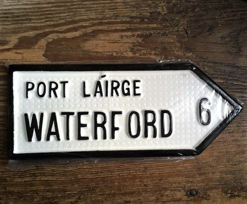 Irish Road Sign - Waterford