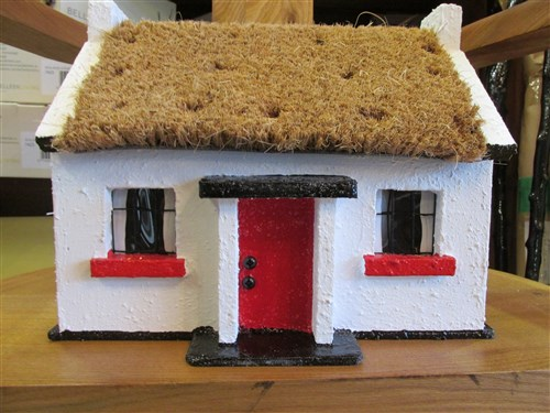 Irish Thatched Cottage Ornament Indoor/Outdoor