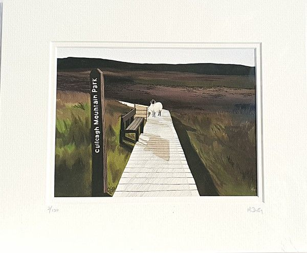 Michelle Duffy Cuilcagh Mountain Print