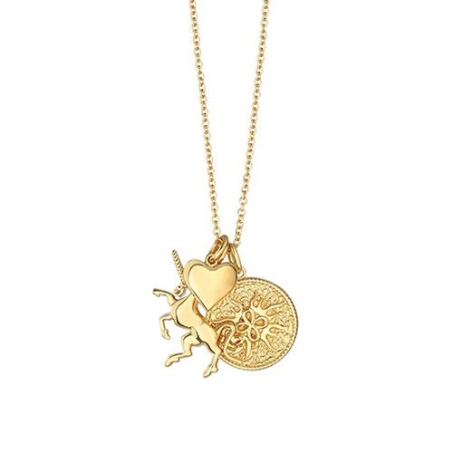 Newbridge Amy Necklace with Charms Unicorn