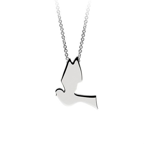 Newbridge Silverware Confirmation Dove Pendant