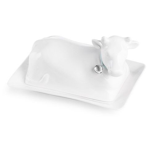 Newbridge Silverware Cow Butter Dish