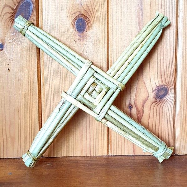 "St Bridget's Cross 10"" Made In Ireland"