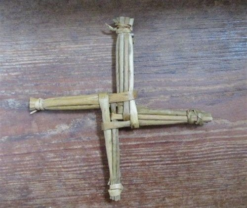 "St Bridget's Cross 6"" Made In Ireland"