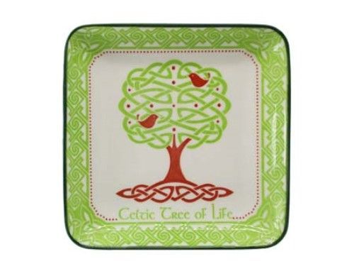 Tree Of Life Square Plate